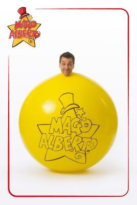 cartolina mago alberto 3 | crazyballoons.it