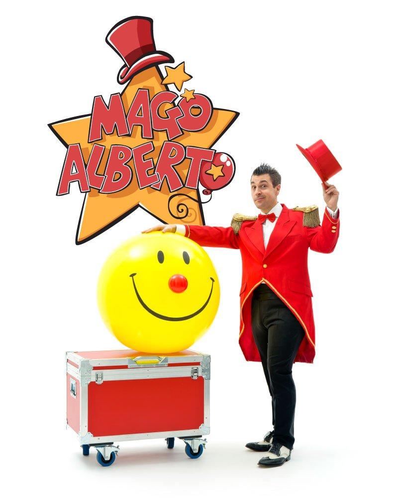 spettacoli di magia mago alberto | crazyballoons.it