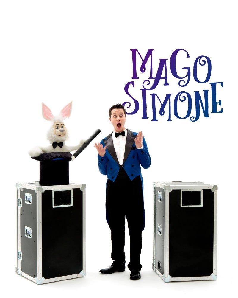spettacoli di magia mago simone | crazyballoons.it